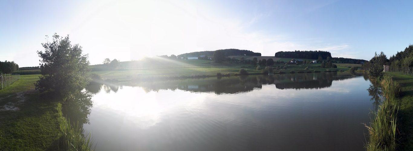 Catch & Release Teich Panoramabild