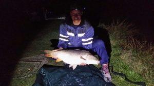 Karpfenfang am Catch & Release Teich