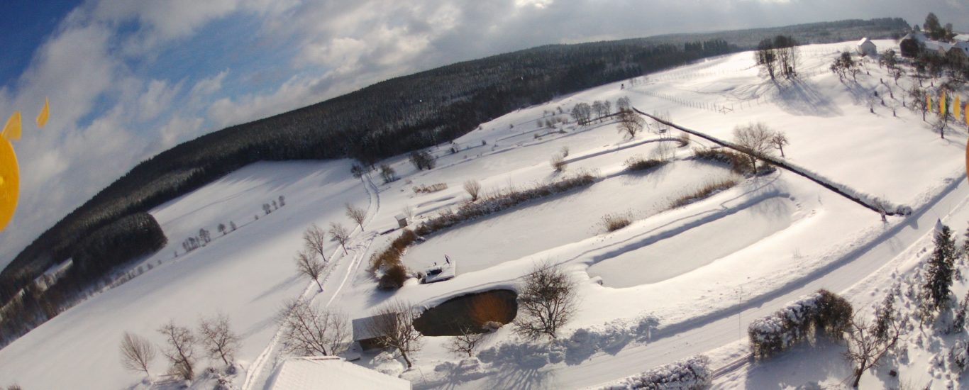 Flugaufnahme Winter